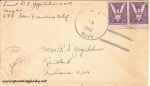 June 19, 1943 envelope