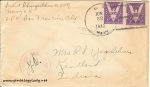June 22, 1943 envelope