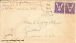 June 25, 1943 envelope