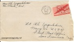 July 19, 1943 envelope