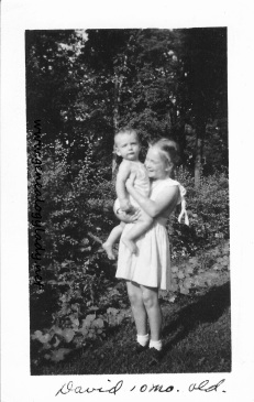 YEG1943-07 David with a Zell girl