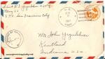 August 6, 1943 envelope
