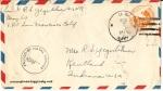 August 7, 1943 envelope