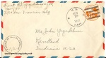 August 19, 1943 envelope