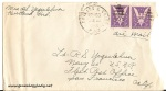 August 20, 1943 envelope