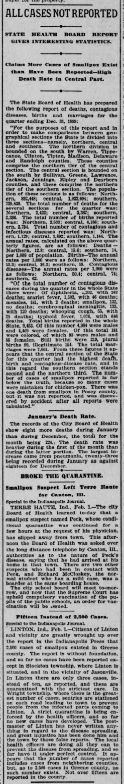 Indianapolis Journal - 1900-02-02 (Smallpox epidemic), p. 8