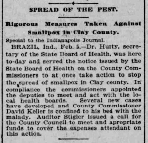 Indianapolis Journal - 1900-02-06 (Smallpox epidemic), p. 5