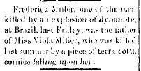 Miller, Viola - Clay City Reporter, 1890-06-27, p. 2