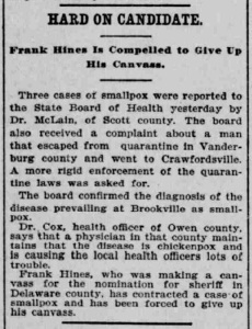 Indianapolis Journal - 1900-02-24 (Smallpox epidemic), p. 8