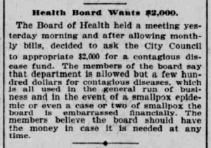 Indianapolis Journal - 1900-03-08 (Smallpox epidemic)