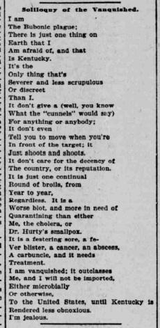 Indianapolis Journal - 1900-03-12 (Smallpox epidemic) #1