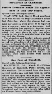 Indianapolis Journal - 1900-03-14 (Smallpox epidemic), p. 2