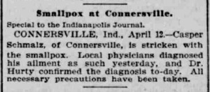 Indianapolis Journal - 1900-04-13 (Smallpox epidemic), p. 3