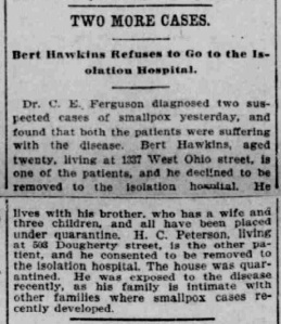 Indianapolis Journal - 1900-04-14 (Smallpox epidemic), p. 8