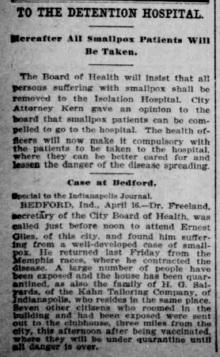 Indianapolis Journal - 1900-04-17 (Smallpox epidemic), p. 6
