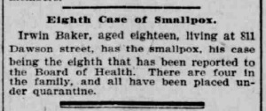 Indianapolis Journal - 1900-04-18 (Smallpox epidemic), p. 3