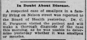 Indianapolis Journal - 1900-04-19 (Smallpox epidemic), p. 6
