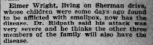 Indianapolis Journal - 1900-04-24 (Smallpox epidemic), p. 3