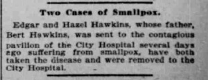 Indianapolis Journal - 1900-04-26 (Smallpox epidemic), p. 11