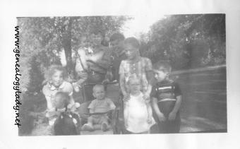 September 23, 1943 Birthday guests