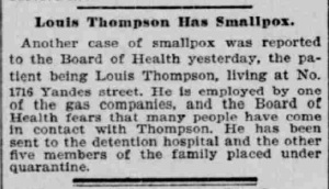 Indianapolis Journal - 1900-04-29 (Smallpox epidemic), p. 8