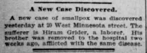 Indianapolis Journal - 1900-04-30 (Smallpox epidemic), p. 8