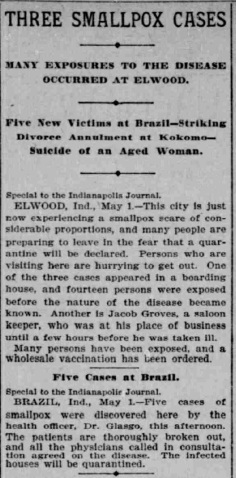 Indianapolis Journal - 1900-05-02 (Smallpox epidemic), p. 2