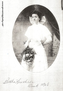 Kerschner, Bertha - Photograph, 1908