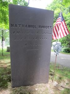 Hobert, Nathaniel - gravestone