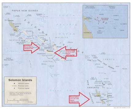 Solomon Islands - Roscoe departs