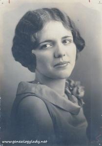 Foster, Gladys - Terre Haute, Indiana,1929