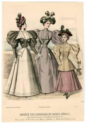 Fashion Plate c1896