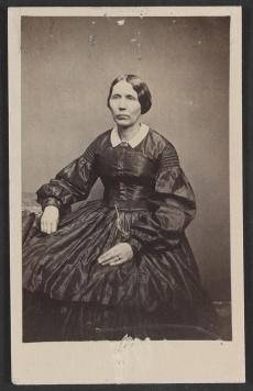 Civil War Era woman - LOC #4