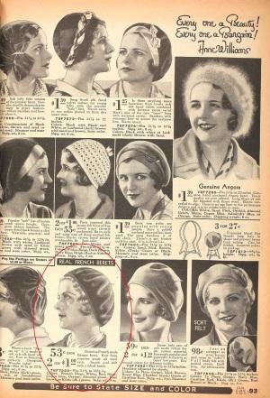 Sears catalog, 1931