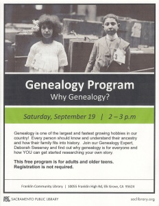 Genealogy Program Why Genealogy