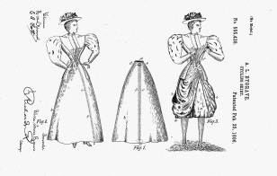 Cycling Skirt, 1896