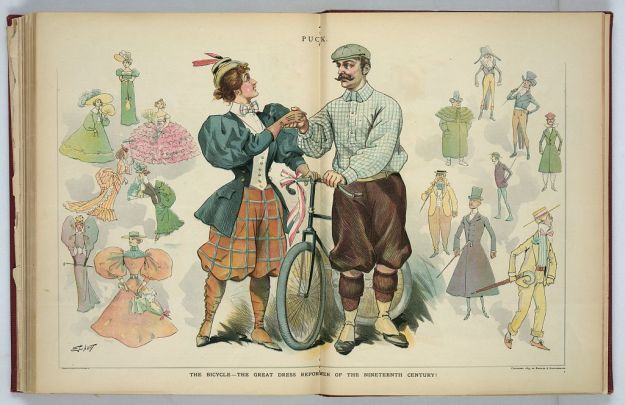 The Bicyle - The Great Dress Reformer of the Nineteenth Century