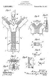 001_Sundback_zipper_1917_patent