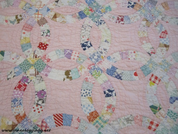 Quilt - Baby, detail (attributed to Emma Foster) #1