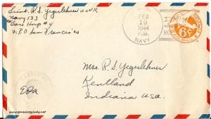 February 18, 1944 envelope