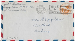 March 15, 1944 envelope