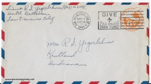 March 18, 1944 envelope