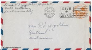 March 18, 1944 envelope