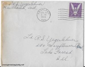 April 13, 1944 envelope