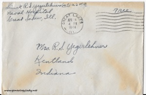 April 13, 1944 envelope