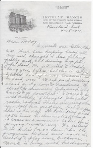 April 15 & 16, 1944, p. 1