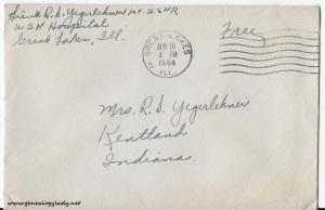 April 15, 1944 envelope