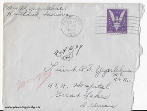 April 17, 1944 envelope