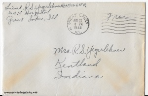 April 17, 1944 envelope