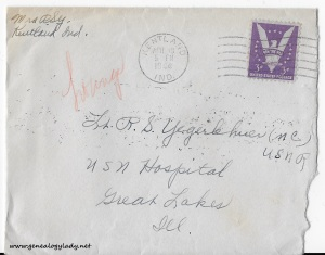 April 18, 1944 envelope